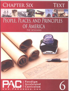 People, Places, and Principles of America Chapter 6 Text