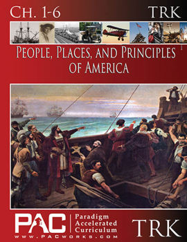 People, Places, and Principles of America Teacher Resource Kit CD only (Chapters 1-6)