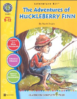 Adventures of Huckleberry Finn Literature Kit (Novel Study Guides)