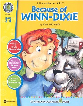 Because of Winn-Dixie Literature Kit (Novel Study Guides)