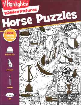 Hidden Pictures: Horse Puzzles