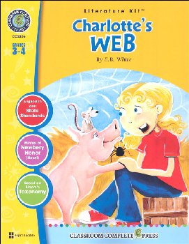 Charlotte's Web Literature Kit (Novel Study Guides)