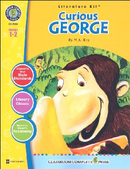 Curious George Literature Kit (Novel Study Guides)