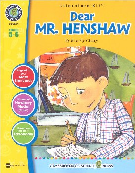 Dear Mr. Henshaw Literature Kit (Novel Study Guides)