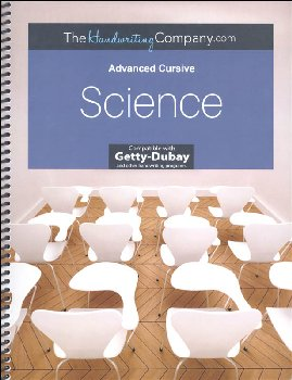 Science - Advanced Cursive