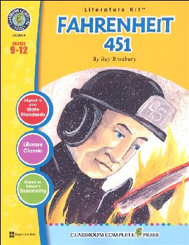 Fahrenheit 451 Literature Kit (Novel Study Guides)