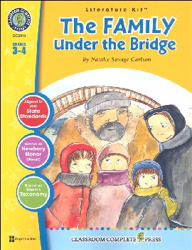 Family Under the Bridge Literature Kit (Novel Study Guides)
