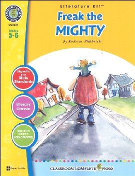 Freak the Mighty Literature Kit (Novel Study Guides)