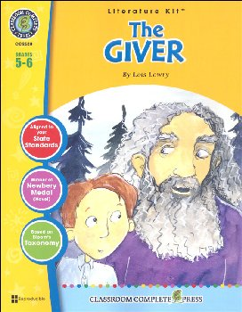 Giver Literature Kit (Novel Study Guides)