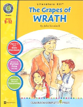 Grapes of Wrath Literature Kit (Novel Study Guides)