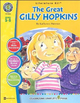 Great Gilly Hopkins Literature Kit (Novel Study Guides)
