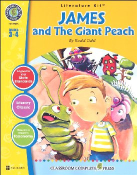 James and the Giant Peach Literature Kit (Novel Study Guides)