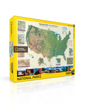 American National Parks Puzzle - 1000 piece (National Geographic)