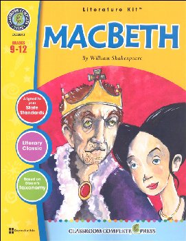 Macbeth Literature Kit (Novel Study Guides)