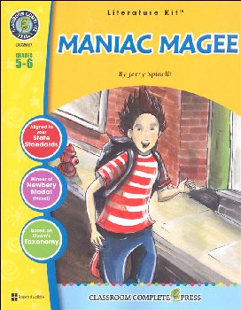 Maniac Magee Literature Kit (Novel Study Guides)