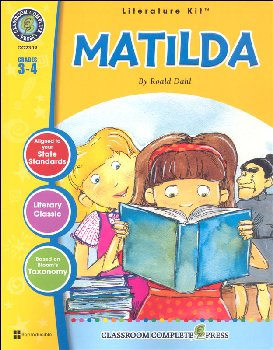 Matilda Literature Kit (Novel Study Guides)