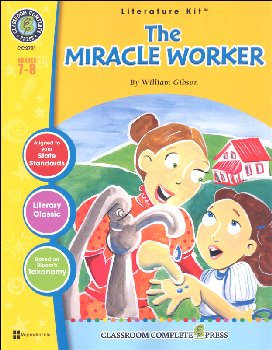 Miracle Worker Literature Kit (Novel Study Guides)
