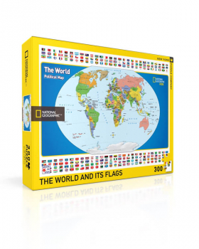World Kids Map Puzzle - 300 piece (National Geographic)