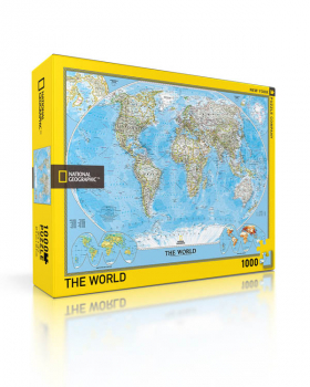 World Puzzle - 1000 piece (National Geographic)