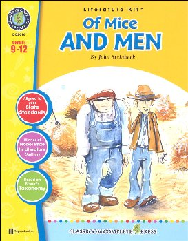 Of Mice and Men Literature Kit (Novel Study Guides)