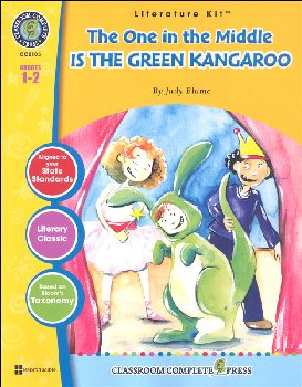One in the Middle is the Green Kangaroo Literature Kit (Novel Study Guides)