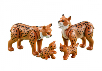 Lynx Family (Country - #6540)