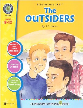 Outsiders Literature Kit (Novel Study Guides)