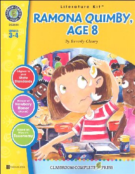 Ramona Quimby, Age 8 Literature Kit (Novel Study Guides)