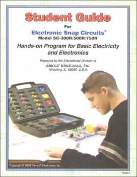 Snap Circuits Student Guide SC-300R/500R/750R