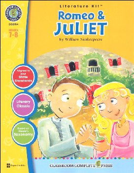Romeo & Juliet Literature Kit (Novel Study Guides)