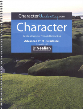 Character D'Nealian - Advanced Print