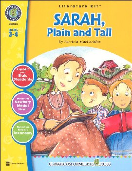 Sarah, Plain and Tall Literature Kit (Novel Study Guides)