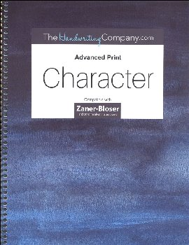 Character Zaner-Bloser - Advanced Print