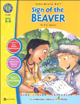 Sign of the Beaver Literature Kit (Novel Study Guides)