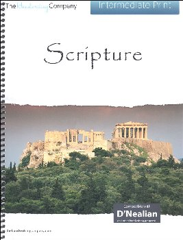 Scripture Character Writing Worksheets D'Nealian Intermediate Print