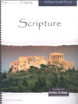 Scripture Character Writing Worksheets Getty Dubay Italic Advanced Print