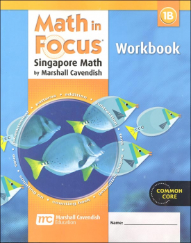 Math in Focus Grade 1 Workbook B