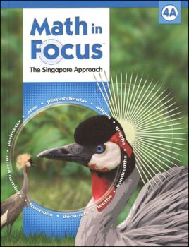 Math in Focus Grade 4 Student Book A