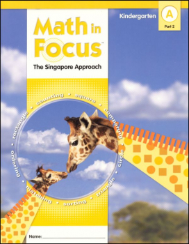 Math in Focus Grade K Student Book A, Part 2