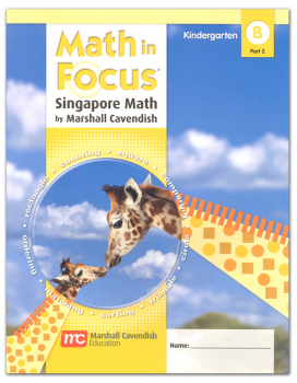 Math in Focus Grade K Student Book B Part 2