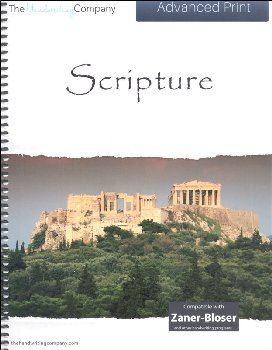Scripture Character Writing Worksheets Zaner-Bloser Advanced Print