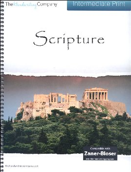 Scripture Character Writing Worksheets Zaner-Bloser Intermediate Print