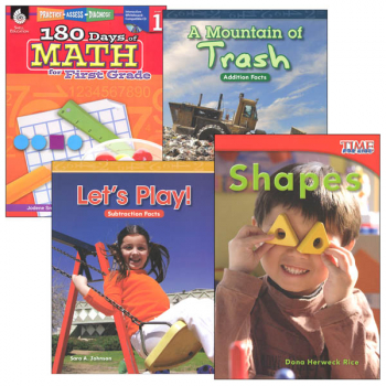 Learn-at-Home Summer Math Bundle Grade 1