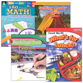 Learn-at-Home Summer Math Bundle Grade 2