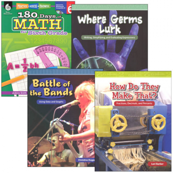Learn-at-Home Summer Math Bundle Grade 6