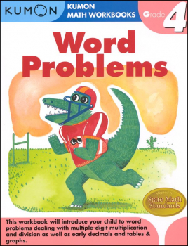 Word Problems Workbook - Grade 4