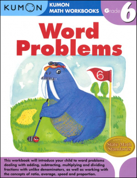 Word Problems Workbook - Grade 6