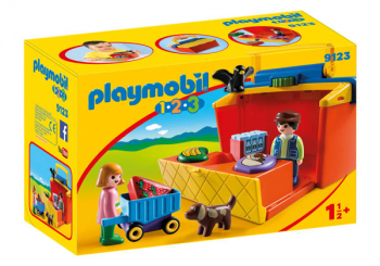 Take Along Market Stall (Playmobil 1-2-3)