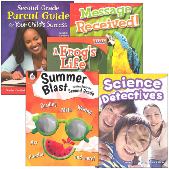 Learn-at-Home Summer STEM Bundle with Parent Guide Grade 2