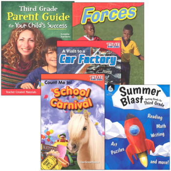 Learn-at-Home Summer STEM Bundle with Parent Guide Grade 3
